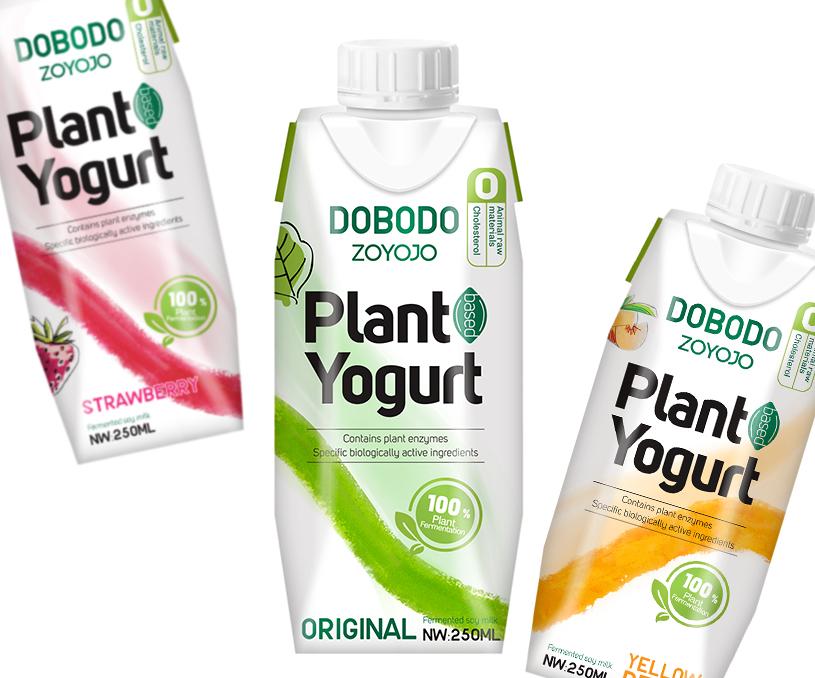 DOBODO植物酸奶包装设计