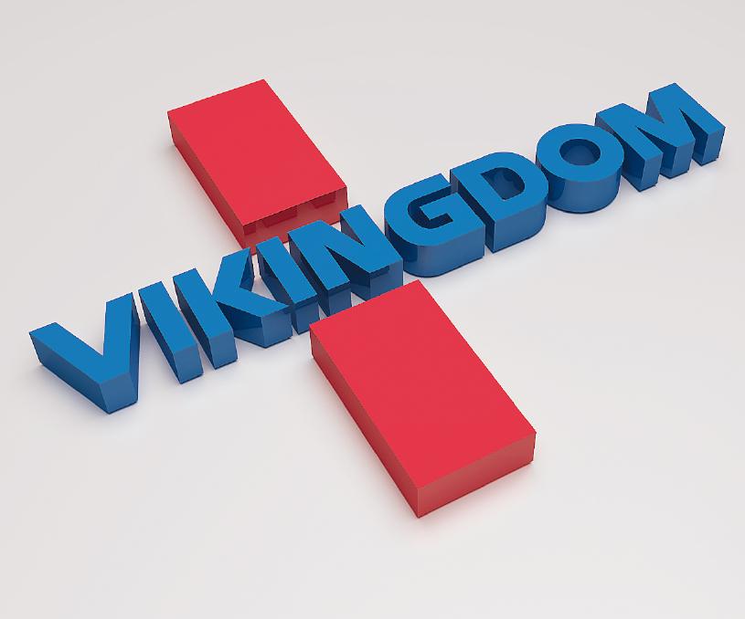 VIKINGDOM维金生物科技品牌设计