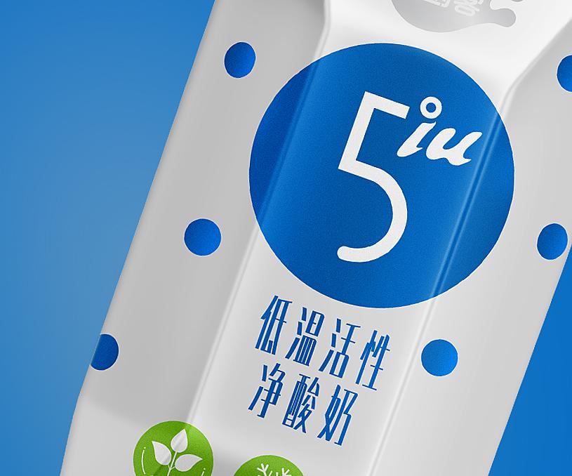 5IU净酸奶品牌全案策划设计
